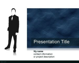 Working Man PowerPoint Template PPT Template