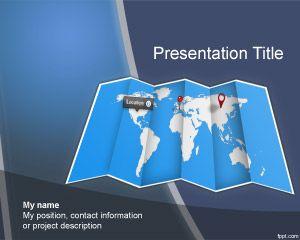 Worldmap powerpoint template for microsoft powerpoint plantillas worldmap powerpoint template gumiabroncs Choice Image