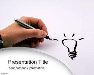 Bright idea PowerPoint Template PPT Template