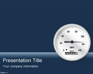 Business Gauge PowerPoint Template PPT Template