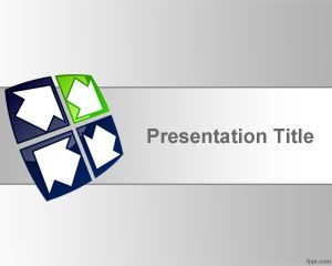 Link toCircular flow powerpoint template