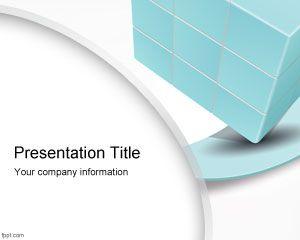 slides powerpoint 3d cube