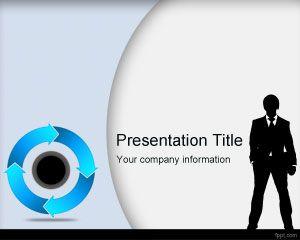 Plantilla PowerPoint de Segmentación de Clientes PPT Template