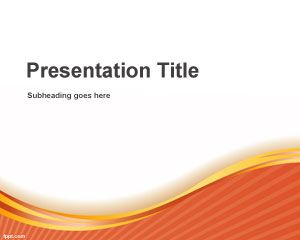 Evolving PowerPoint Template