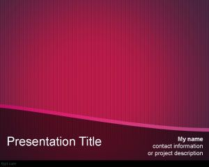 Female PowerPoint Template PPT Template