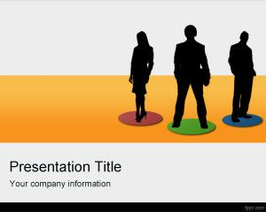 Link toGlobal team powerpoint template