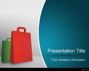 Going Shopping PowerPoint Template PPT Template