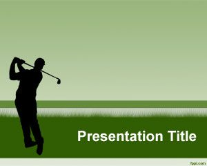 Golf PowerPoint Template