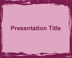 Graphic Art PowerPoint Template
