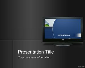 indoor digital signage powerpoint template ppt template