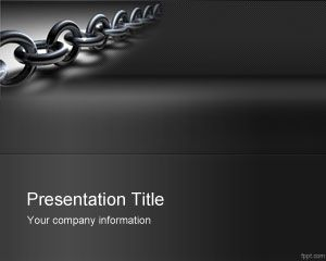 Linkbuilding PowerPoint Template PPT Template