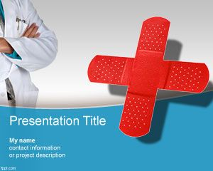 Medical Center PowerPoint Template PPT Template