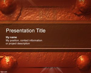Oxide PowerPoint Template