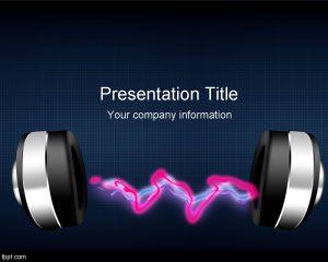 Radio Music PowerPoint Template