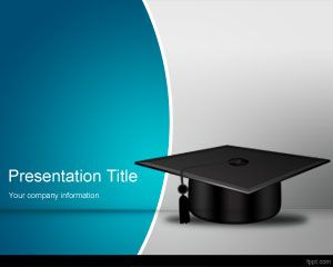 School Completion PowerPoint Template PPT Template