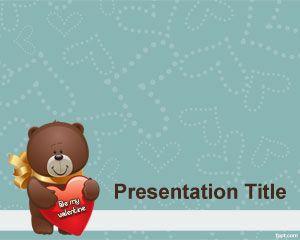 st valentine powerpoint template