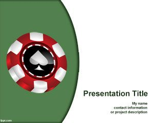 table games powerpoint poker template
