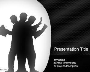 Team Effort PowerPoint Template PPT Template