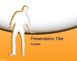 Team Support PowerPoint Template PPT Template