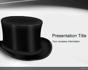 Top Black Hat PowerPoint Template PPT Template