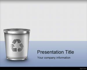 Trash Management PowerPoint Template