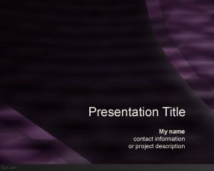 Violet Texture PowerPoint Template PPT Template