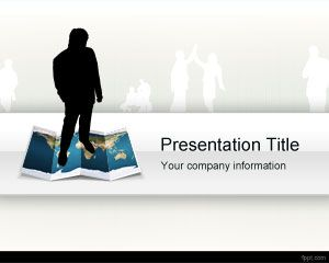 Worldwide Organisation PowerPoint Template PPT Template