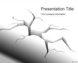 Plantilla PowerPoint de Terremoto