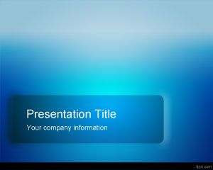 Blue Pro PowerPoint Template PPT Template