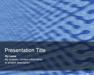 Blur Technology PowerPoint Template PPT Template