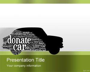 Car Donation PowerPoint Template