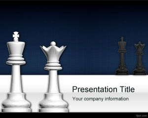 Chess PowerPoint Template PPT Template