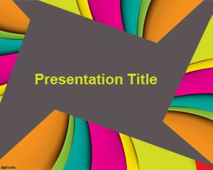 Color Slides PowerPoint Template