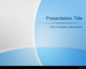 Curved Lines PowerPoint Template