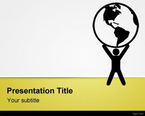 Environmental Issues PowerPoint Template PPT Template