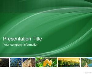 Eco Amp Green Powerpoint Templates For Presentations Free
