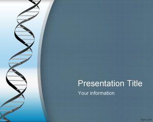 Plantilla PowerPoint de Genética PPT Template