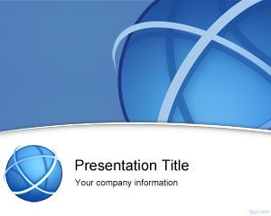 Link toInternational business powerpoint template