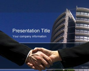 Link toMergers and acquisitions powerpoint template