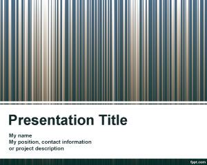 bar code template powerpoint