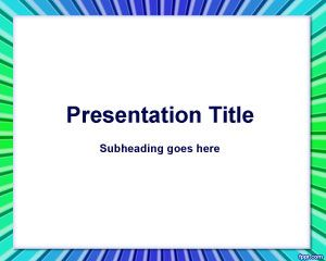 Rectangle Color PowerPoint Template