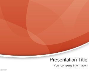 Red Modern PowerPoint Template
