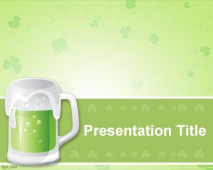 St patricks day free powerpoint templates the post st patrick beer powerpoint template appeared first on free powerpoint templates toneelgroepblik Choice Image