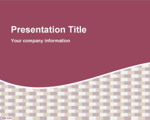 Stucco Curvature PowerPoint Template