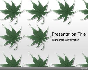 Sustainability PowerPoint Template PPT Template