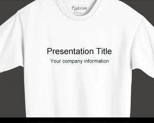 t shirt powerpoint template