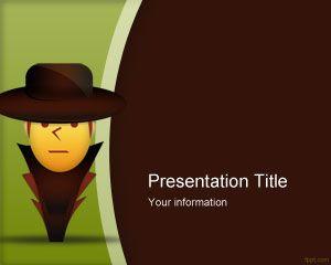 Plantilla PowerPoint de Ladrón
