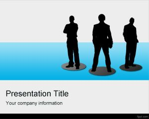 Virtual Teams PowerPoint Template PPT Template