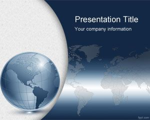 Link toVirtual world powerpoint template