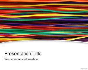 Wires and Cables PowerPoint Template